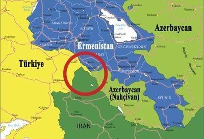 11 km nahcivan (azerbaycan) Türkiye sınırı