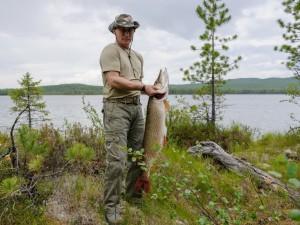 Vladimir Putin balık