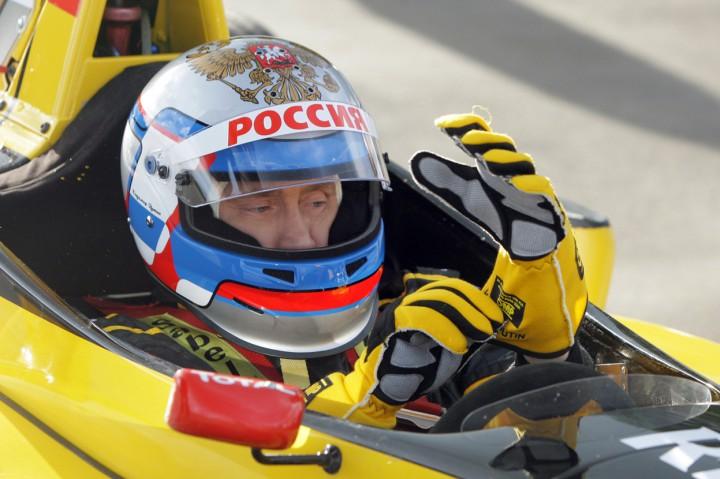Vladimir Putin f1 yarış arbası