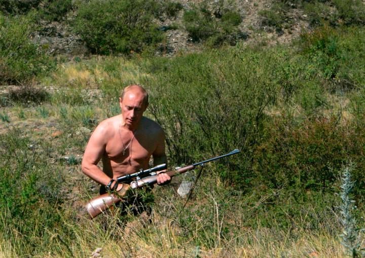 Vladimir Putin sniper keskin nişan