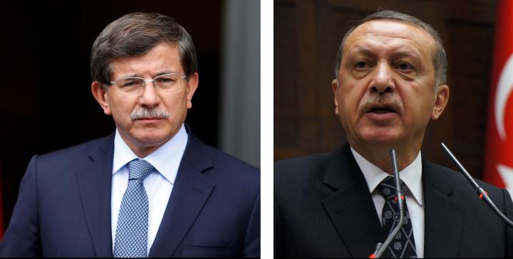 Erdoğan Davutoğlu Savaşı Osmanlıca ile başladı