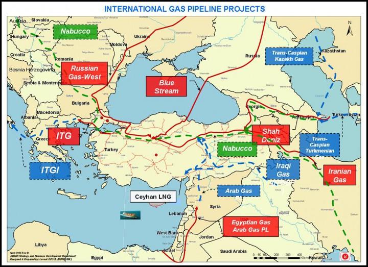 Türkiye'nin doğal konusundaki stratejik önemi