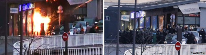 Fransadaki Charlie Hebdo saldırısı süpermarket operasyon