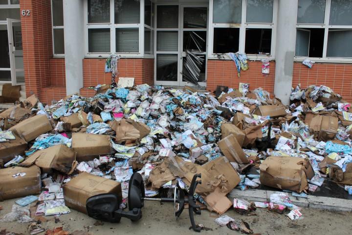 Çarli Hebdo (Charlie Hebdo) 2011 yılı ofisine bombalı saldırı