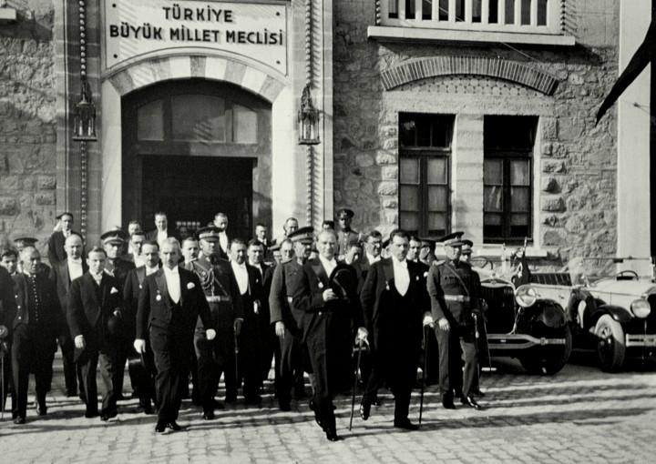 Grand National Assembly of Turkey, TBMM, First Parliament, Atatürk
