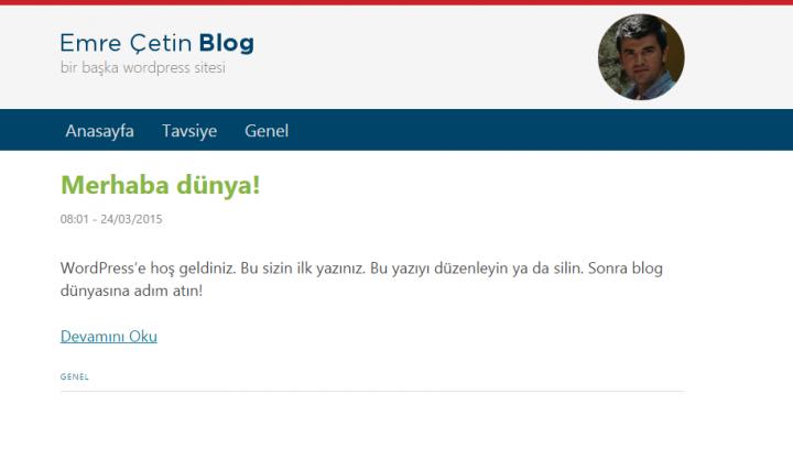 Emre Çetin Blog Eski Tema