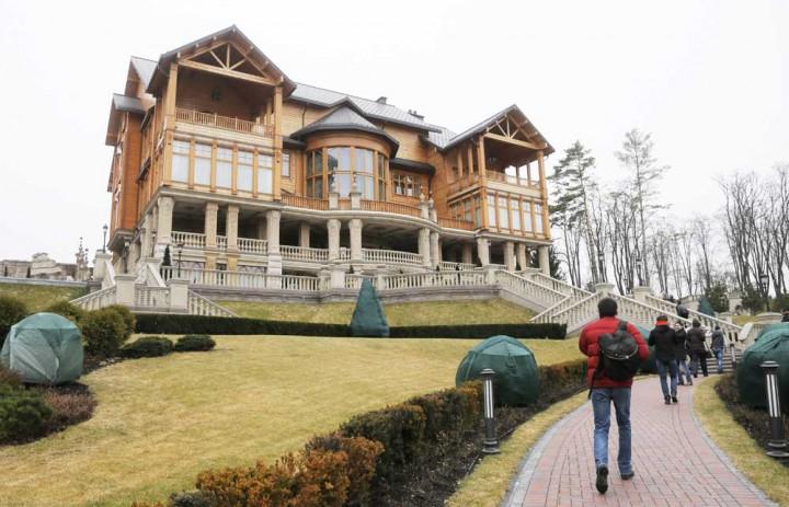 Eski Ukrayna Cumhurbaşkanı Viktor Yanukoviç Sarayı