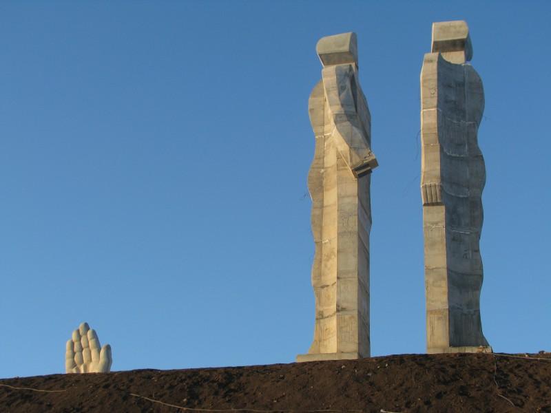 İnsanlık Anıtı (Recep Erdoğan'ın ucube dediği heykel)