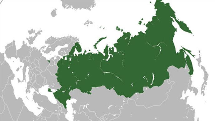 Rusya haritası dünya haritası