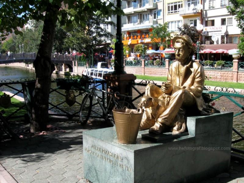 Porsuk - Eskişehir heykel