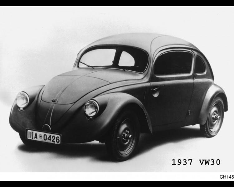 Ferdinand Porsche, Volkswagen Beetle ve Nazi dönemi