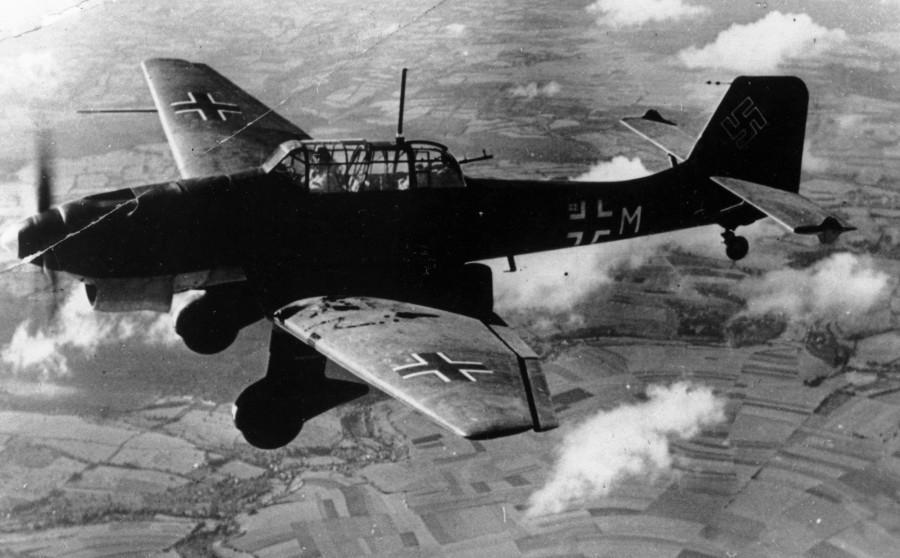 Nazi Almanyası Stuka uçakları