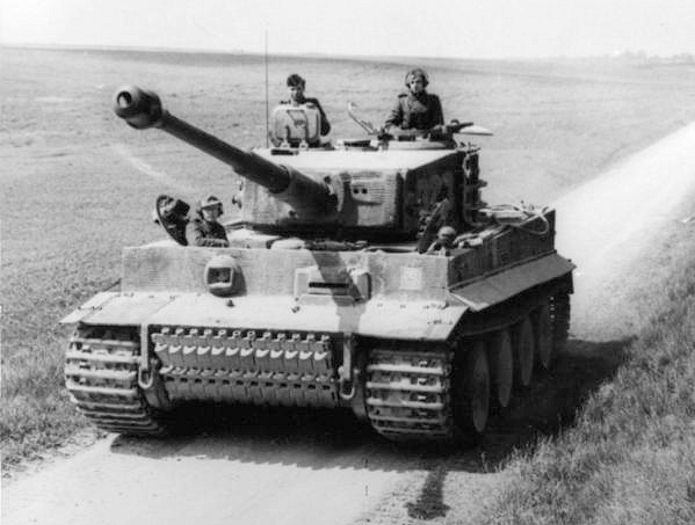 Nazi Almanyası Panzerkampfwagen 6 Tiger tank