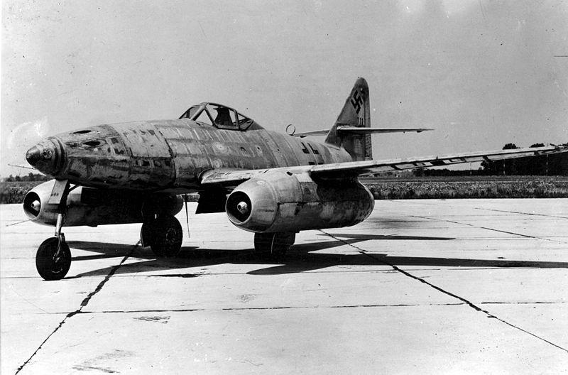 nazi jet motorlu uçağı