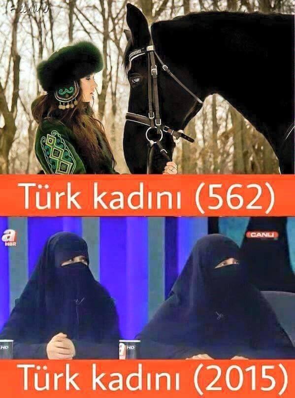 Türk Kadını ve Araplaşmış hali