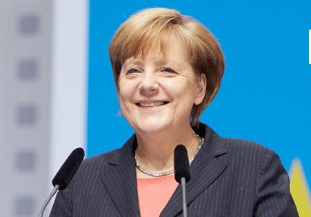 Angela Merkel, sosyal medya hesapları: facebook, twitter, instagram