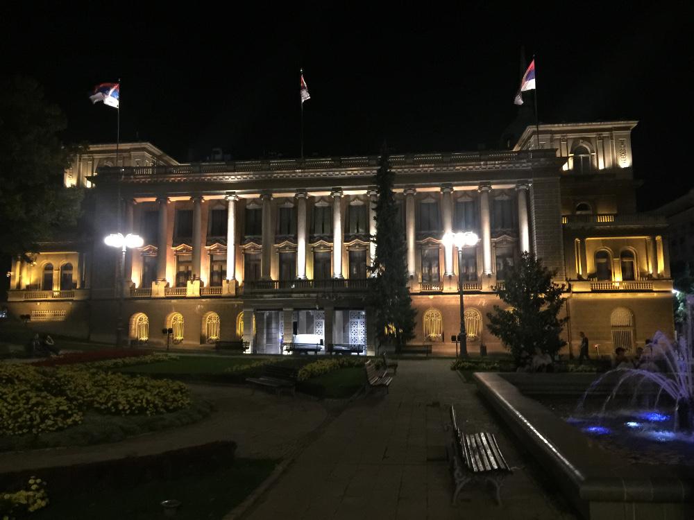 Sırbistan Başkanlık Sarayı