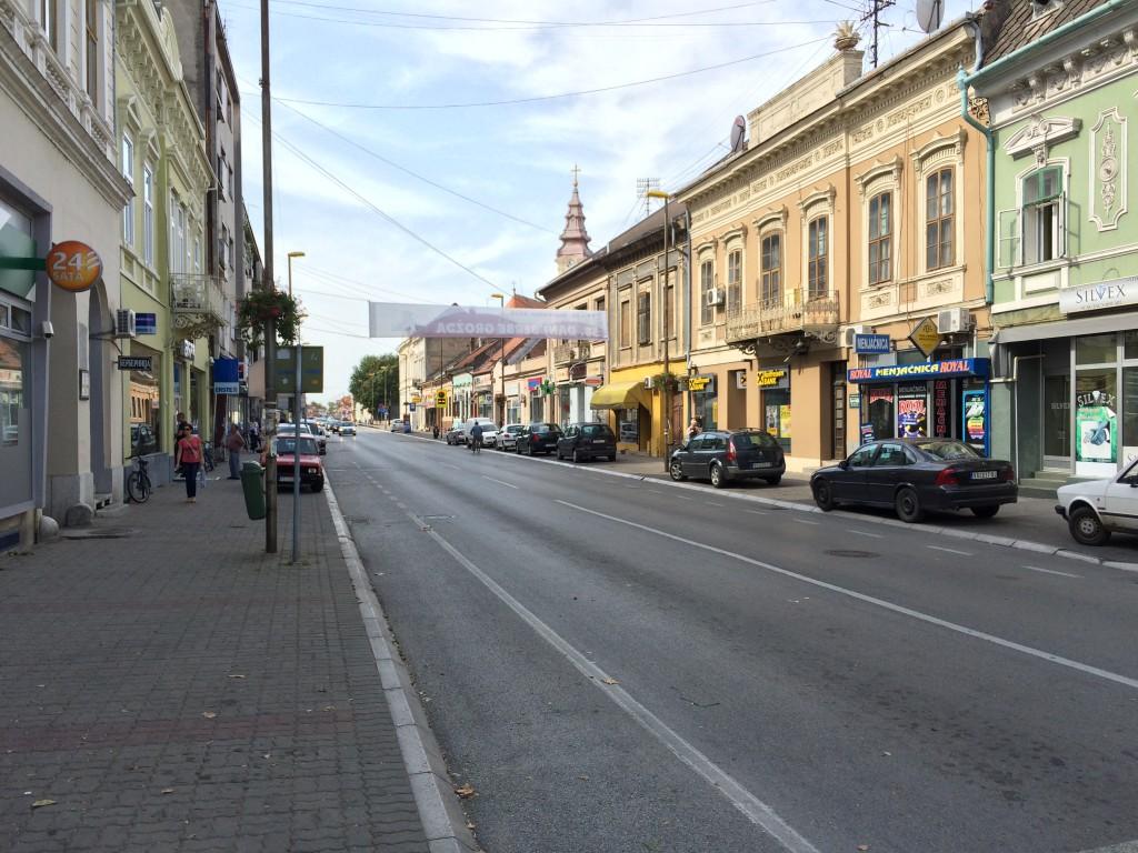 Vrsac sokakları