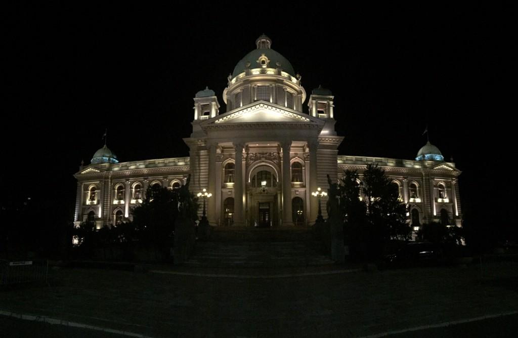 Sırbistan Parlementosu (Serbian Parliament) Panaroma