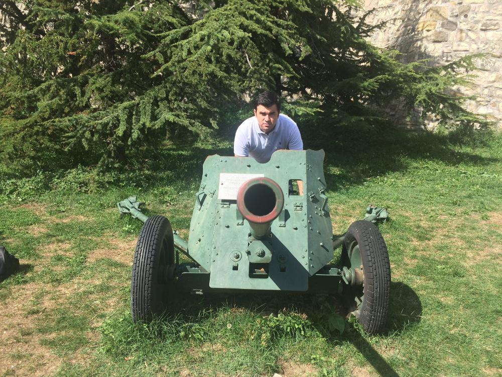 105'lik top - Sırp Askeri müzesi