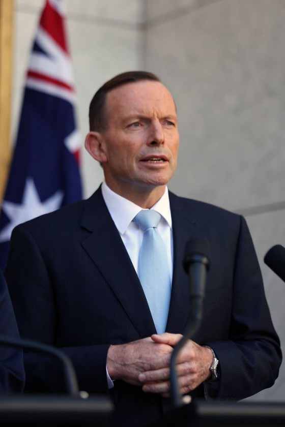 Tony Abbott, sosyal medya hesapları: facebook, twitter, instagram