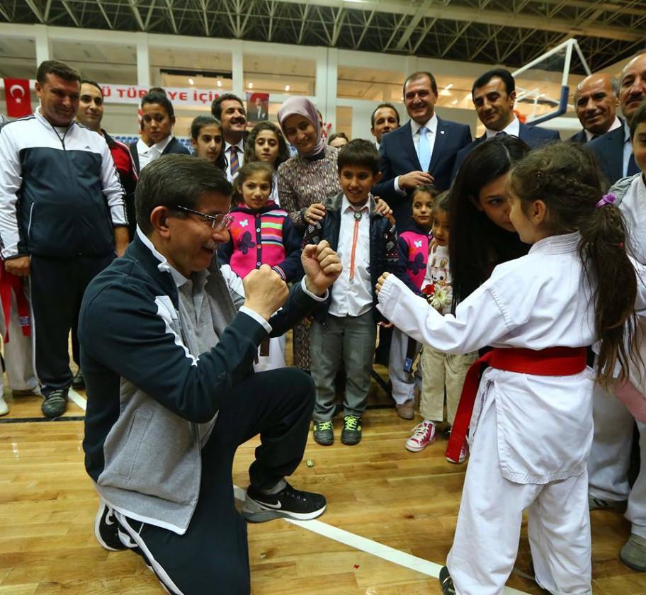 davutoglu judo