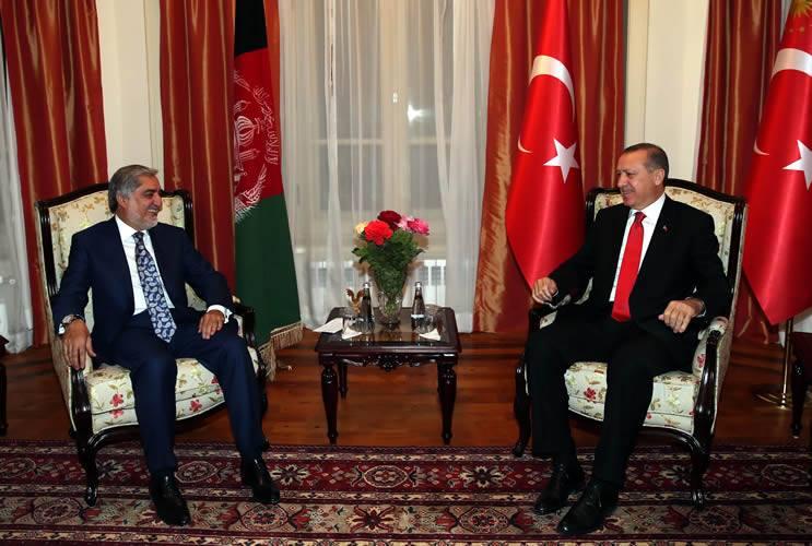 afganistan karsilama erdogan koltuk
