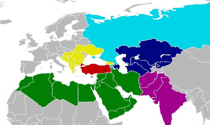 bolge gucu Turkiye