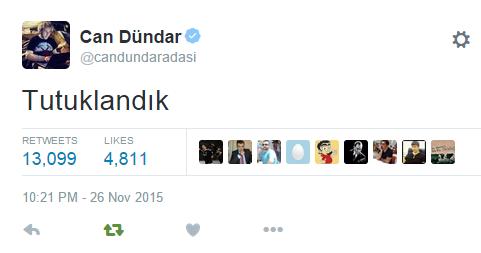 can dündar tweet