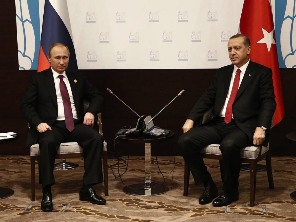 Erdoğan Putin G20 toplantısı Turkey