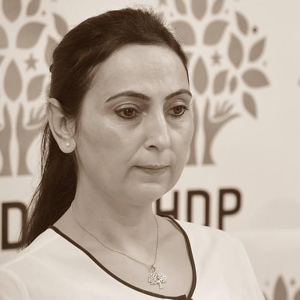 Van HDP Milletvekili Figen Yüksekdağ Şenoğlu