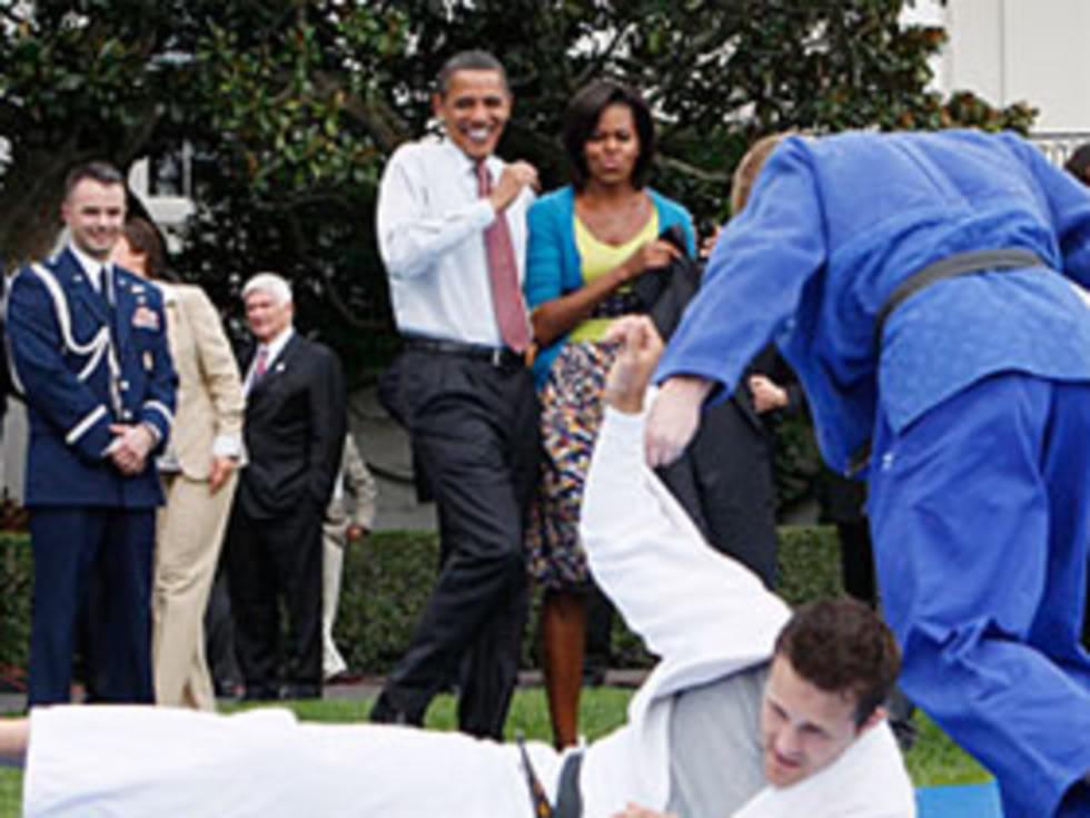 Obama judo korku