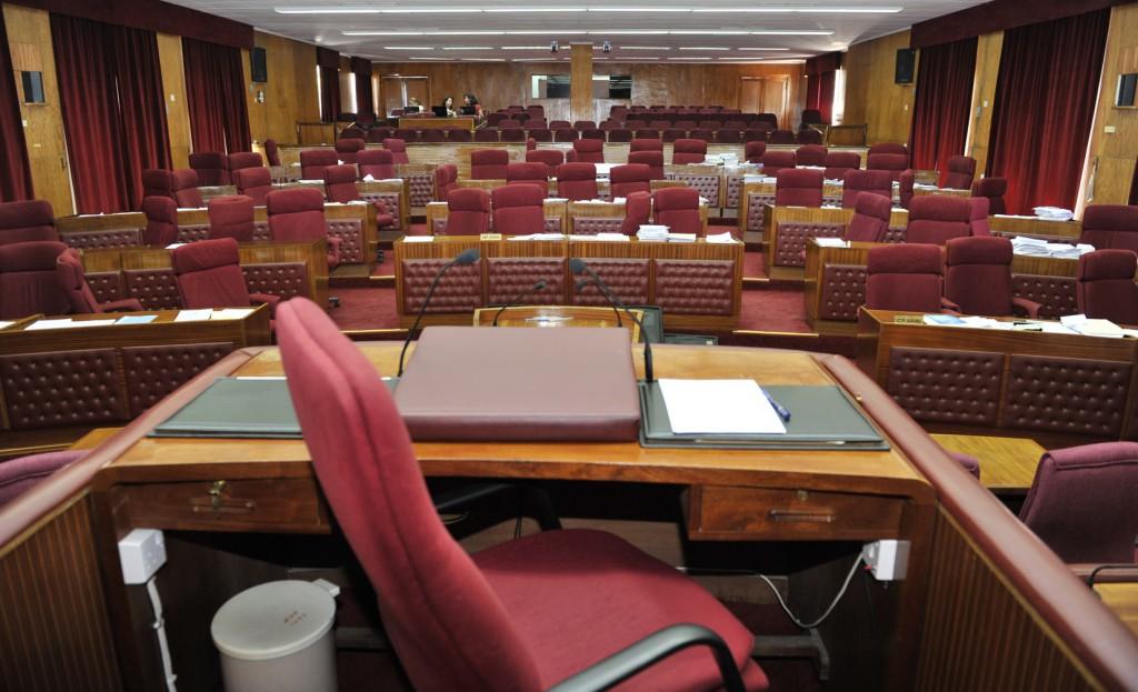 KKTC Cumhuriyet Meclisinin İçi