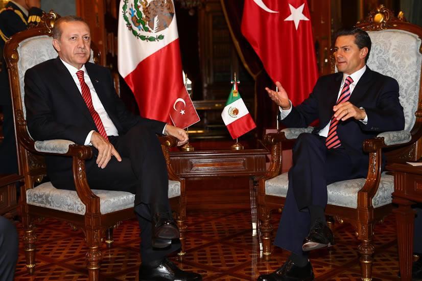 meksika karsilama erdogan koltuk