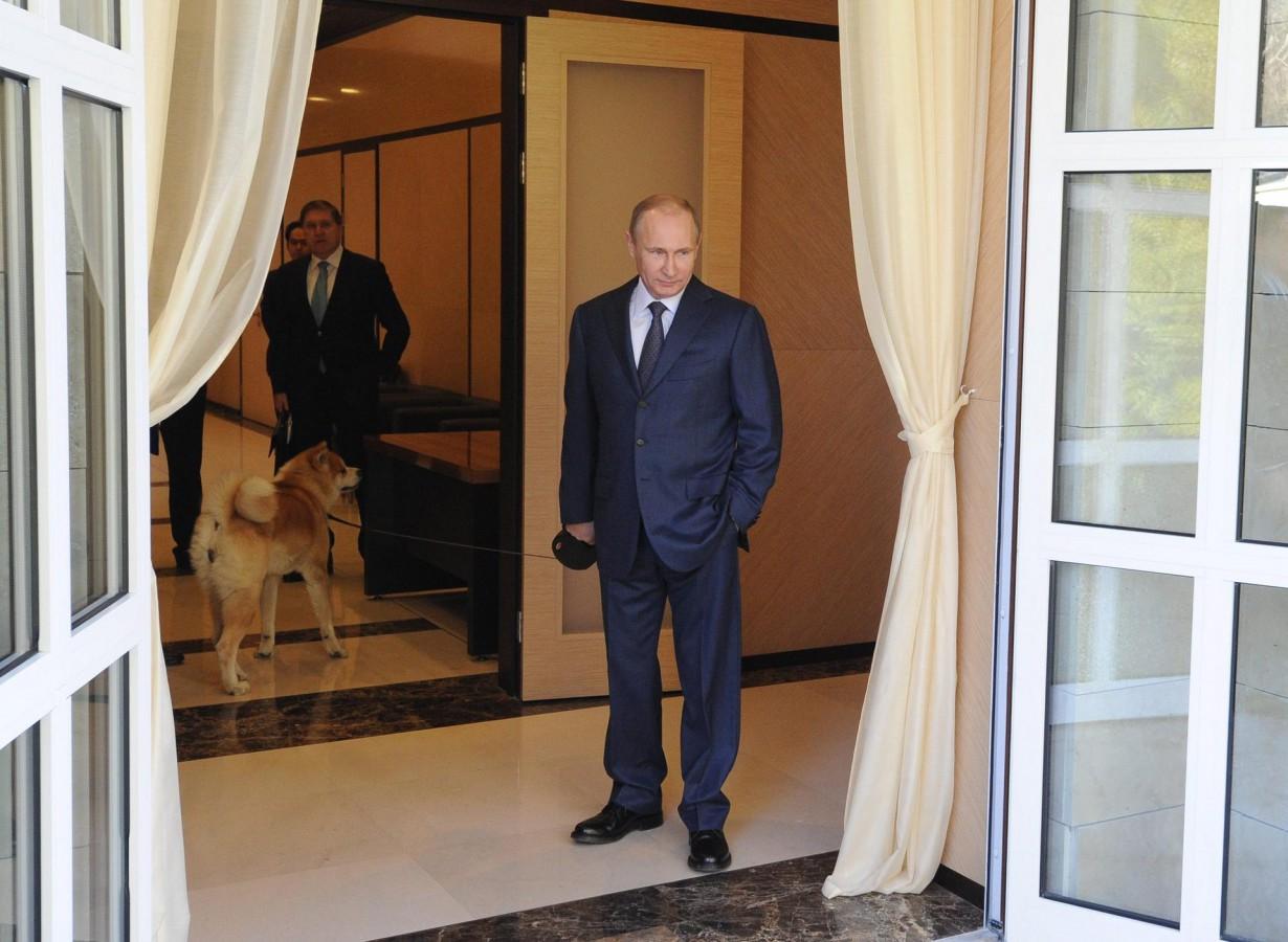 Putin ve köpeği
