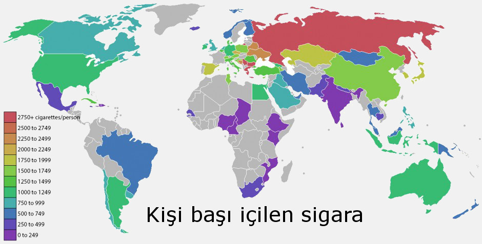 sigara cekme haritasi