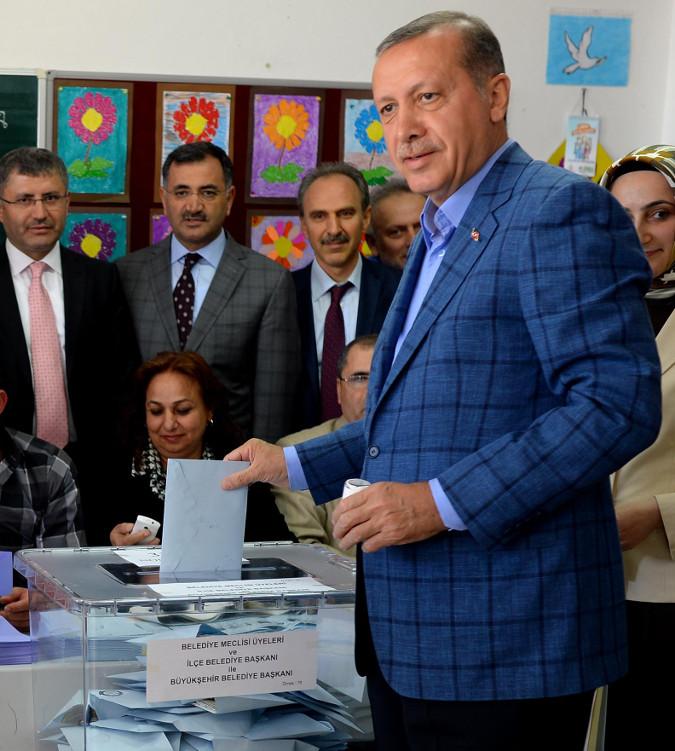 Recep Erdoğan Mavi Ceketi kareli ve mavi olmasının anlamı