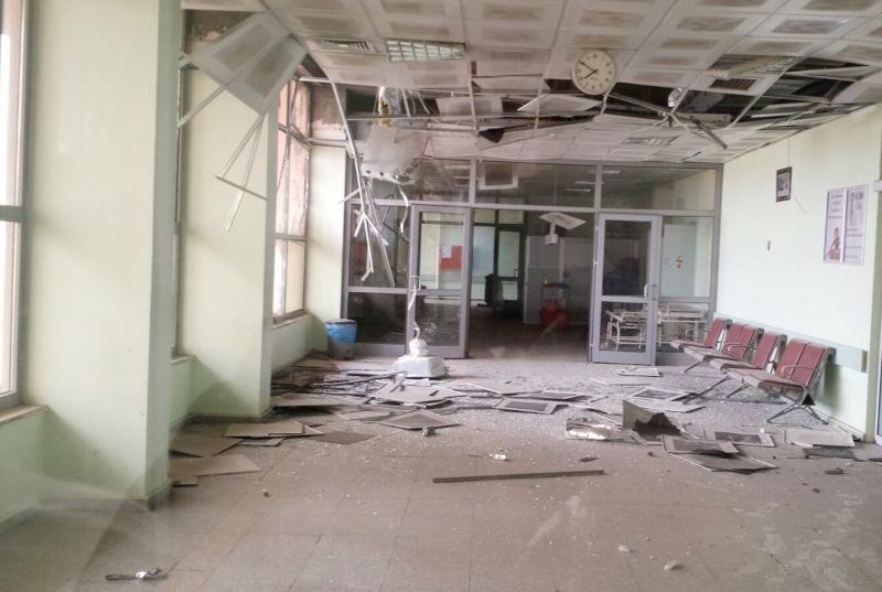 Cizre hastahanesi roketli saldırı