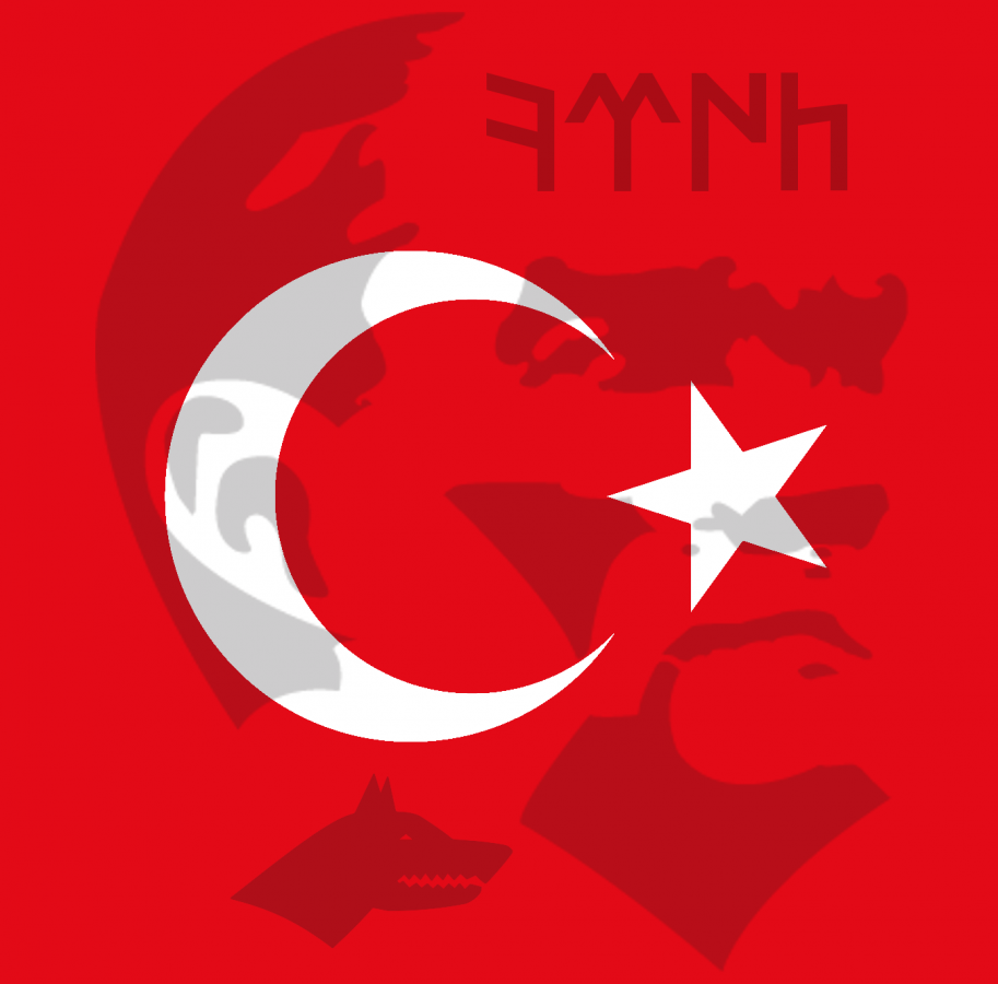 atatürk göktürk türk bayrağı alın yazısı
