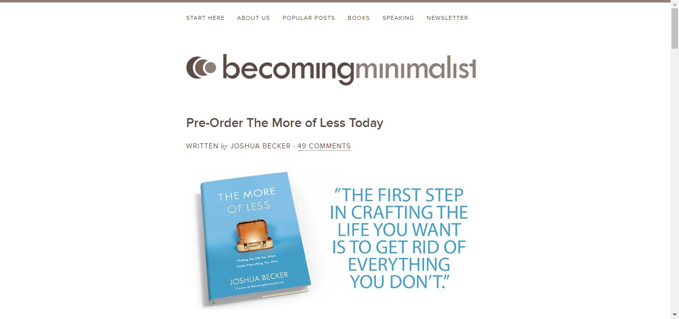 minimalist site tasarımları 2