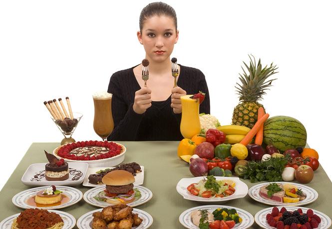 sağlıklı ve sağlıksız besinler