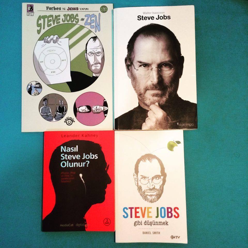 steve jobs kitapları
