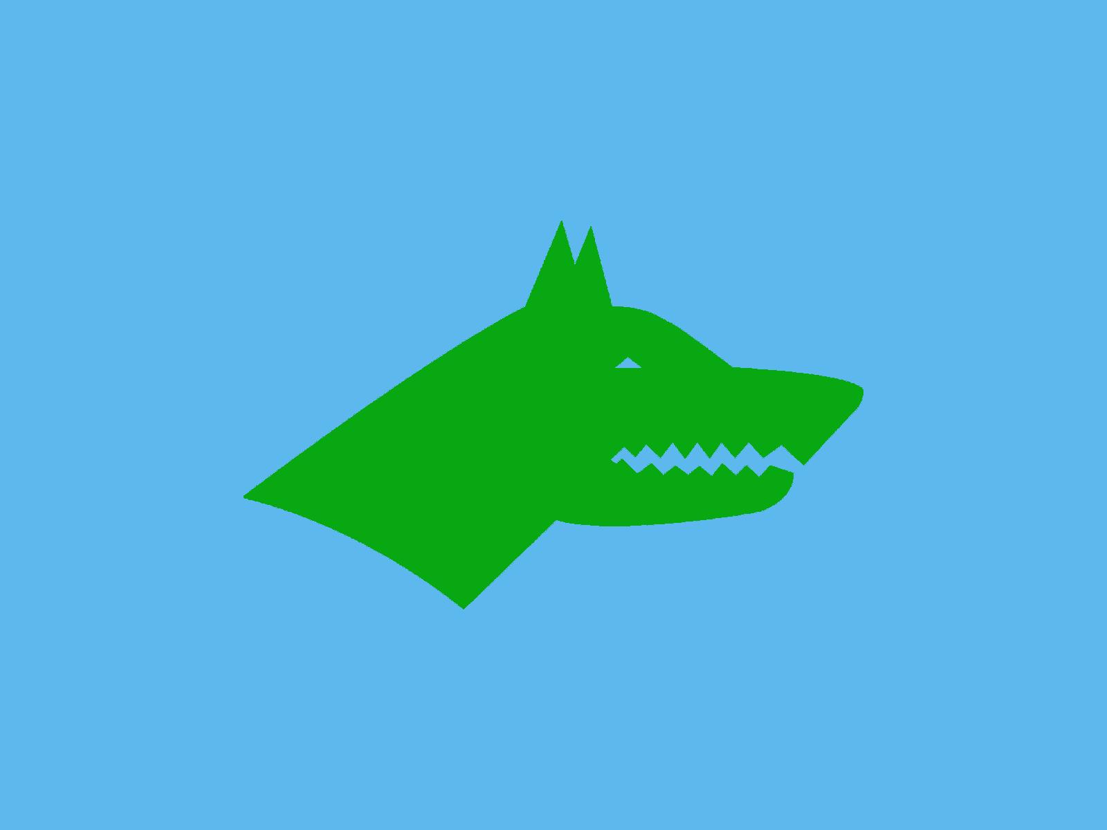 Orjinal Göktürk bayrağı