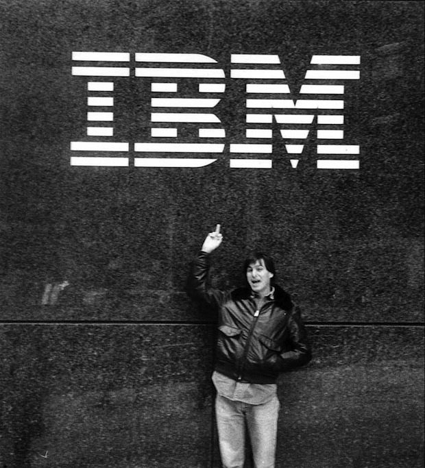 steve jobs IBM