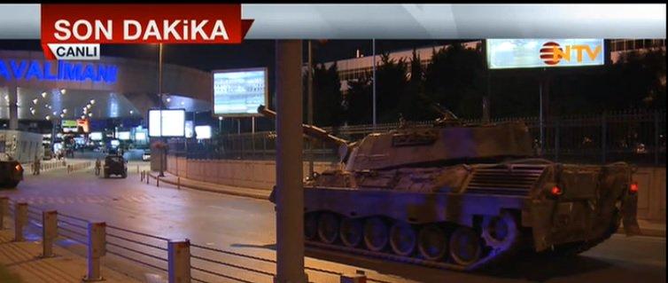 atatürk havalimanı kapatıldı