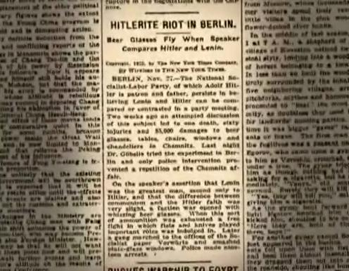 new york times nazi