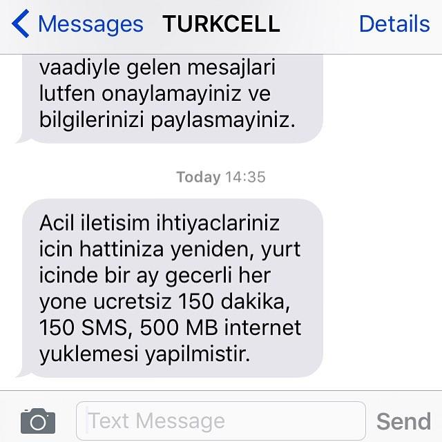 turkcell yardım paketi