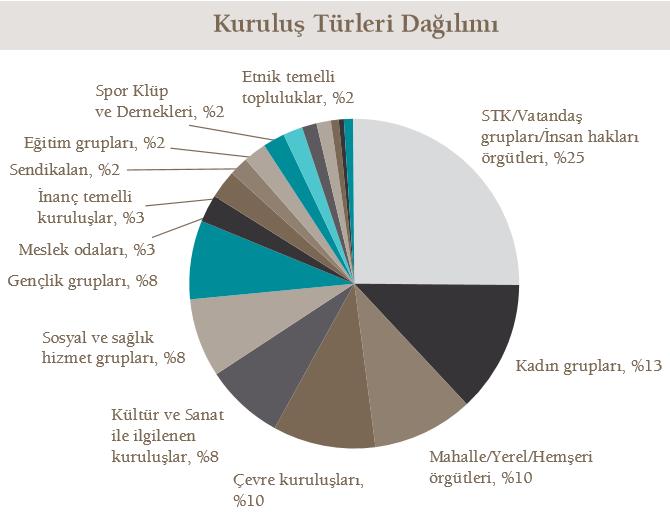 STK kuruluş türleri