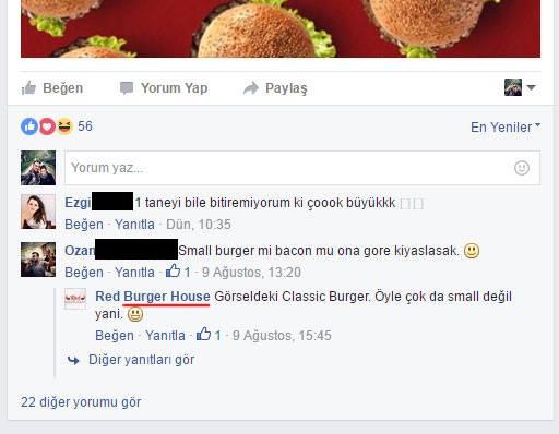 red burger ingilizce